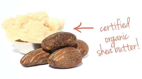 certified organic shea butter